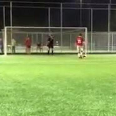 Penalty nemen als een baas